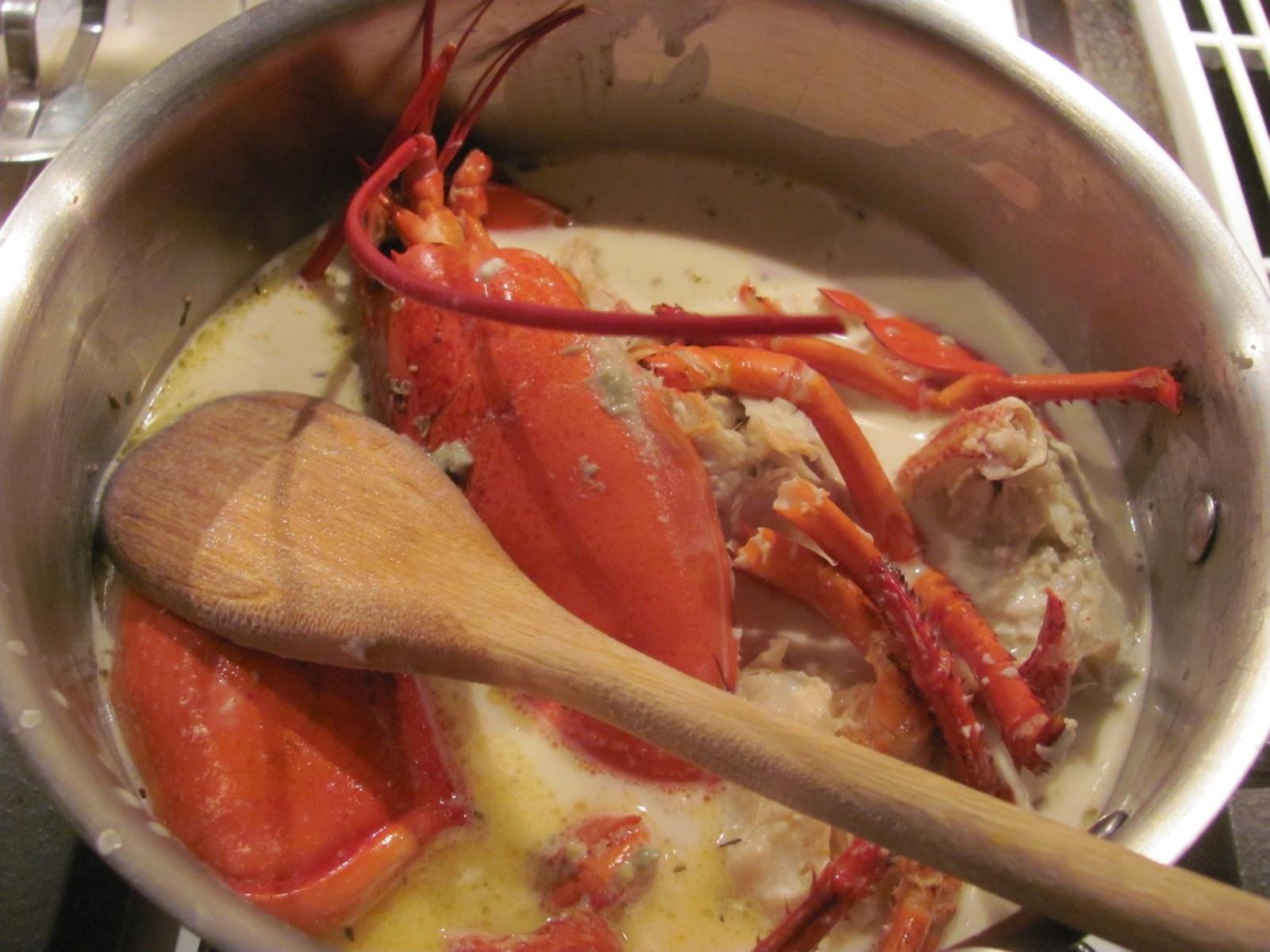 Anecdotes de cuisine spaghettis au homard et lardons du - Degraisser en cuisine ...
