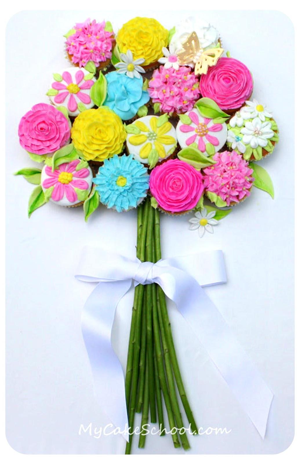 Как сделать букет цветов на день мамы