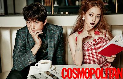 Han Ye Seul Bang Sung Joon Cosmopolitan December 2015
