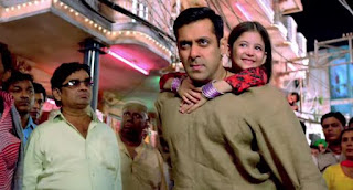 Harshaali Malhotra as Munni in Bajrangi Bhaijaan