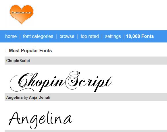 Kumpulan Font lucu, buatan Desainer terbaik