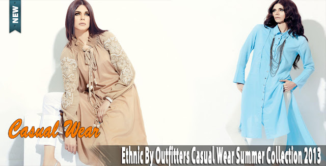 Ethnic By Outfitters Casual Wear Summer Collection 2013