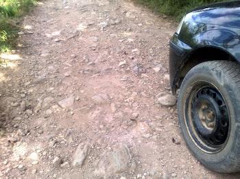 Aguenta pneu....