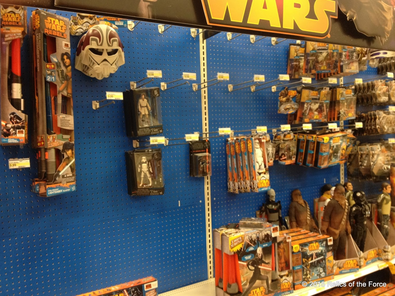 Target Toy Aisle The Star Wars Aisle at Target