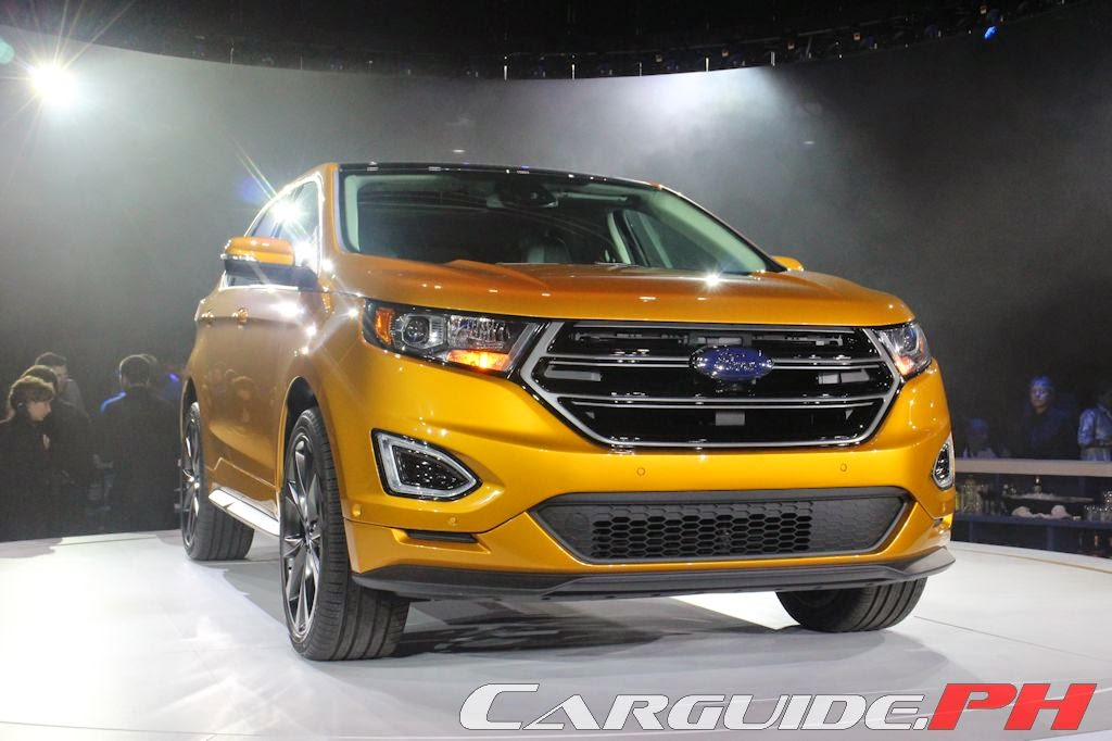 Further with Ford 2014: All-New Global Ford Edge Makes Debut