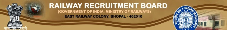 RRB Bhopal - Recruitment 2014-15 Notification
