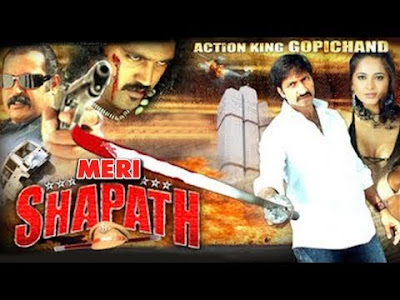 Meri Shapath 2014 South Hindi Dubbed WEBRip 400MB