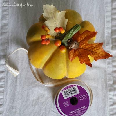 Little Bits Of Home Homeforthefallidays Halloween Craft Blog Hop Textured Jute Pumpkin