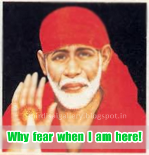 Why  fear  when  I  am  here!