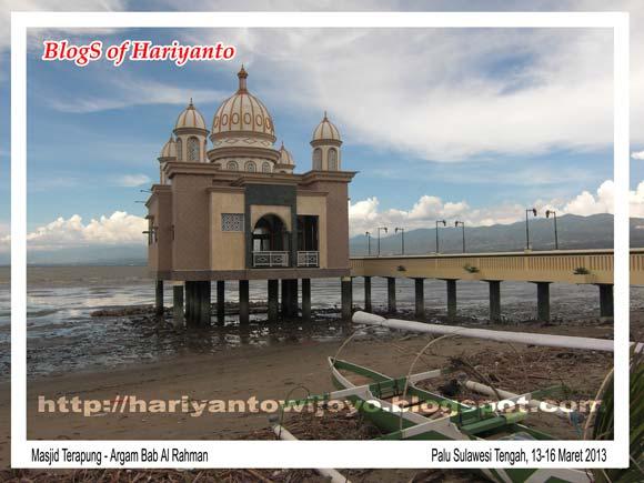 Masjid Terapung Kota Palu Sulawesi Tengah