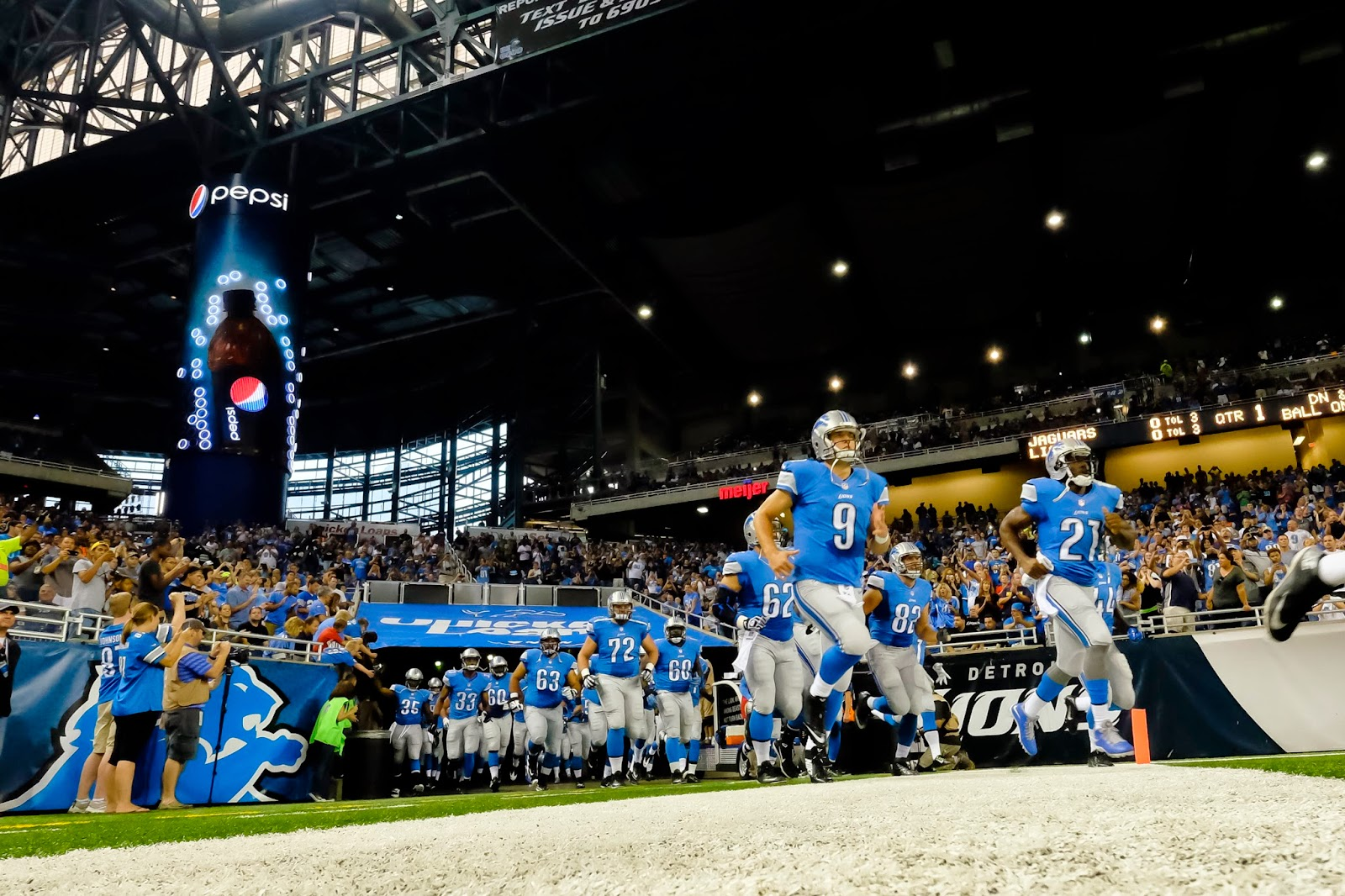 Detroit Lions — No decision on if Matthew Stafford will play Thursday; more notes