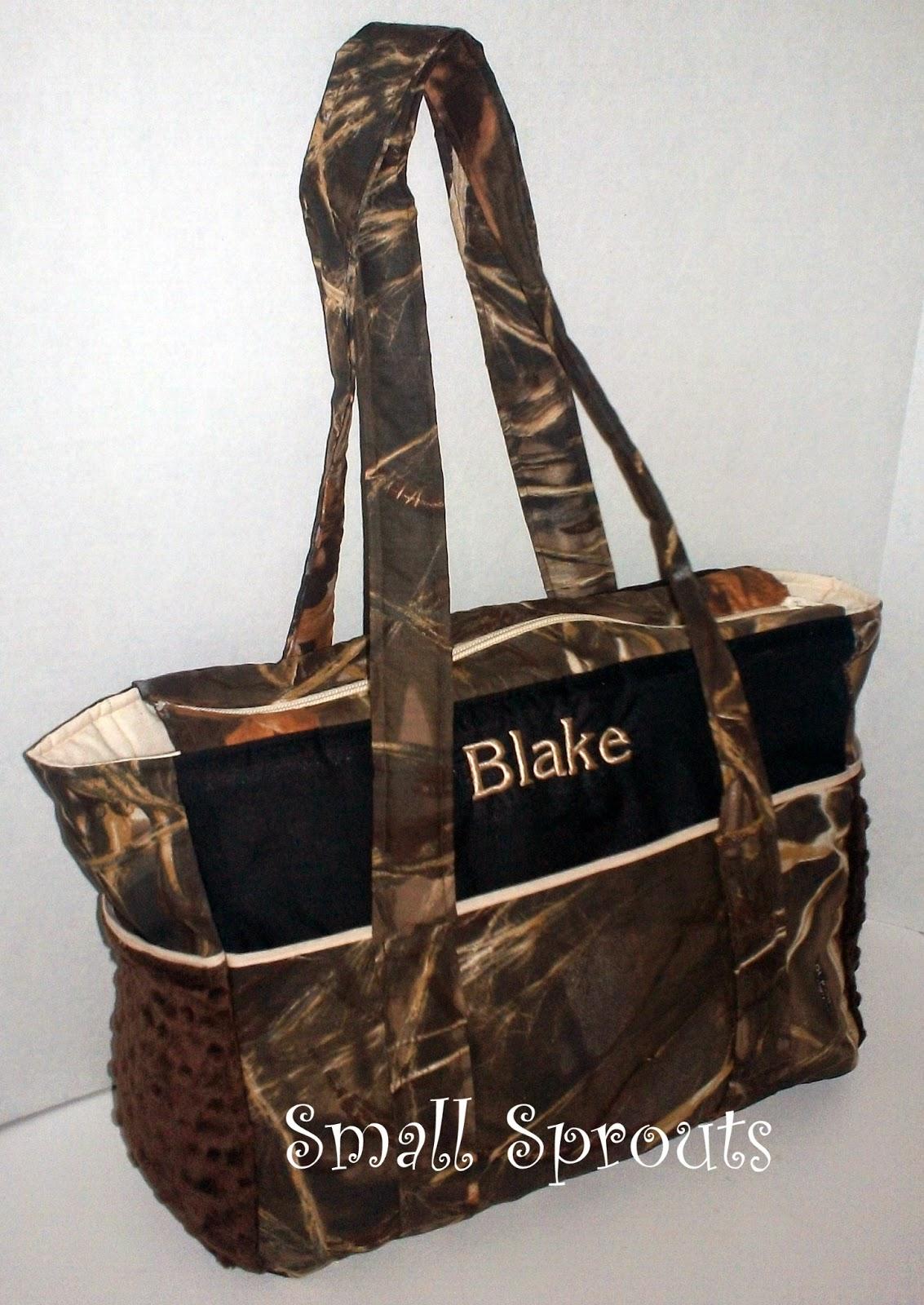 Small Sprouts: Blake Advantage Max 4HD Camo Fancy Diaper Bag