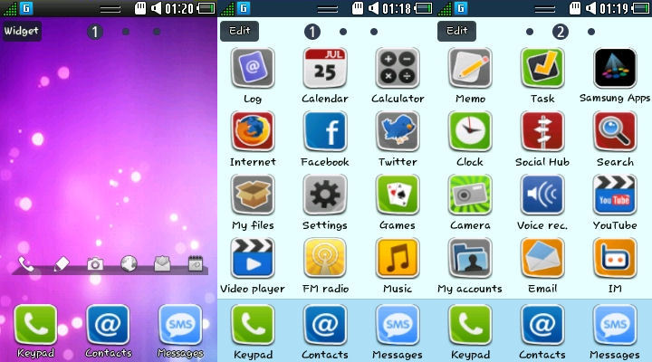Download Smt themes for samsung wave