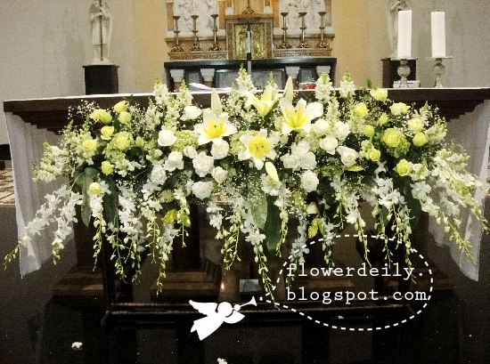 Wedding Alter Decorations