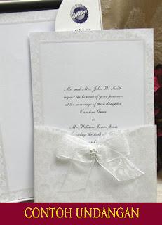 ontoh undangan perkawinan | Contoh Undangan & Undangan Nikah