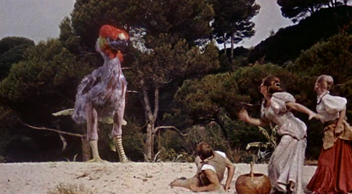 Ray Harryhausen's Giant Bird in Mysterious Island
