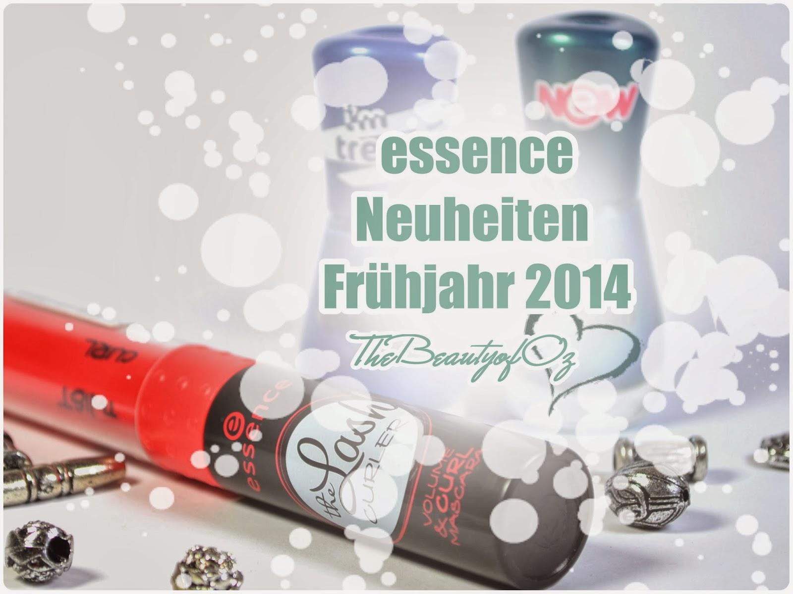 Haul/ Review essence Neuheiten Frühjahr/ Sommer 2014