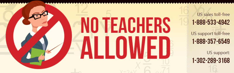 No Teachers Allowed