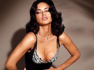 Adriana Lima hot sexy in Victoria's Secret Catalog 2012 February HQ