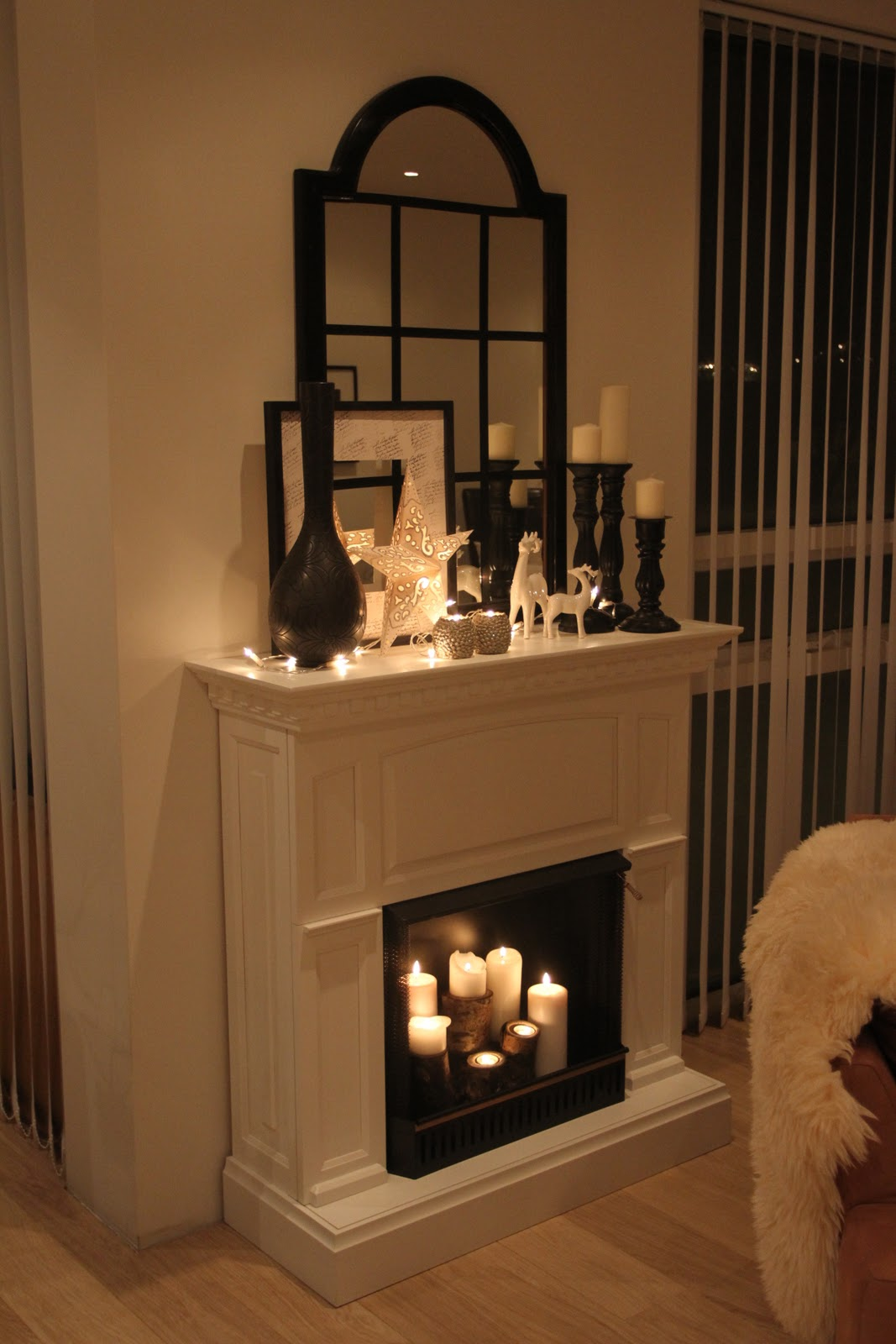 Candle fireplaces on Pinterest