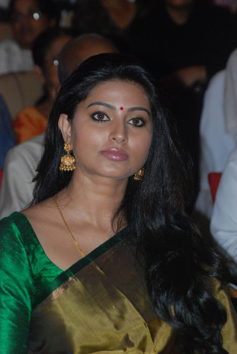 sneha spicy in saree at event actress pics