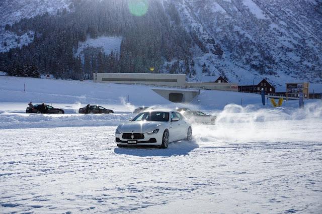 Maserati Drifting
