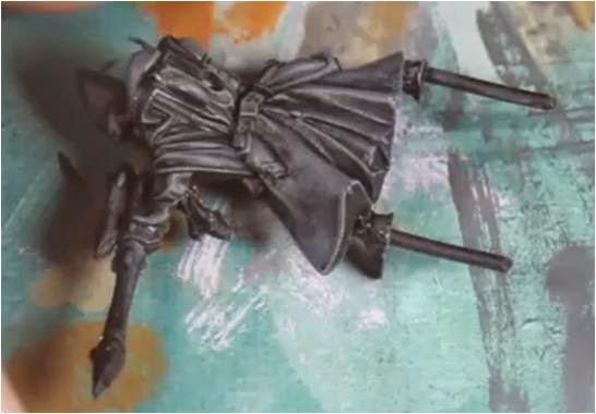 Cómo pintar con pincel seco