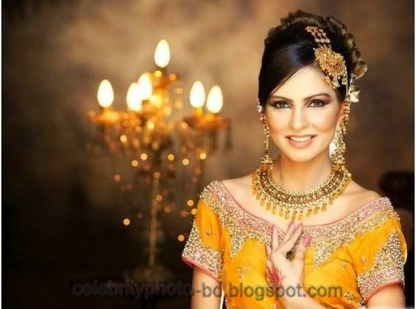Pakistani+Wedding+Hairstyles+For+Bride+Girls+Photos+2014012