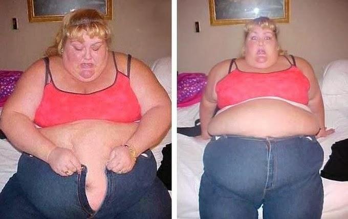 Толстая и страшная баба
