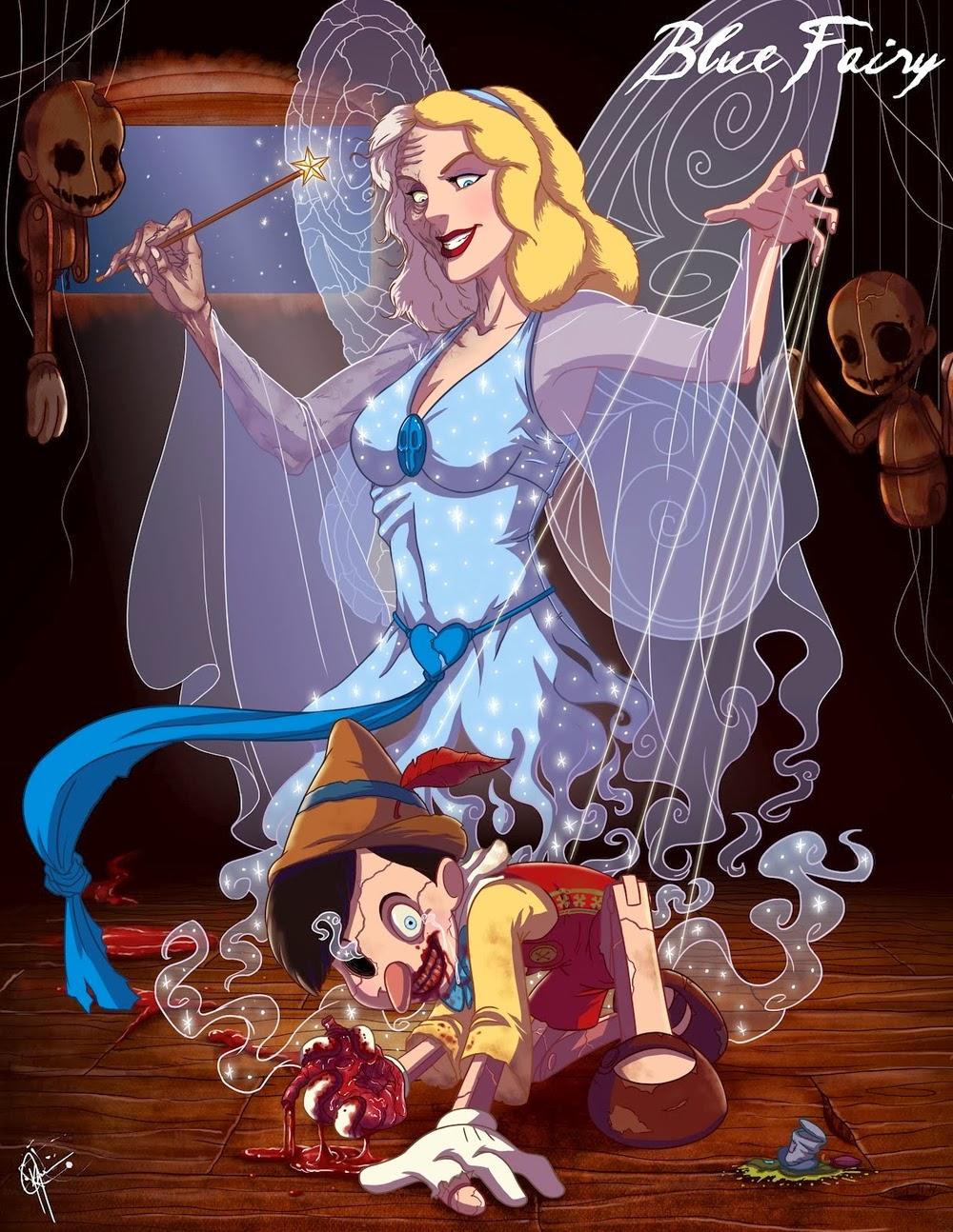 05-Blue-Fairy-Pinocchio-Jeffrey-Thomas-Twisted-Princess-www-designstack-co