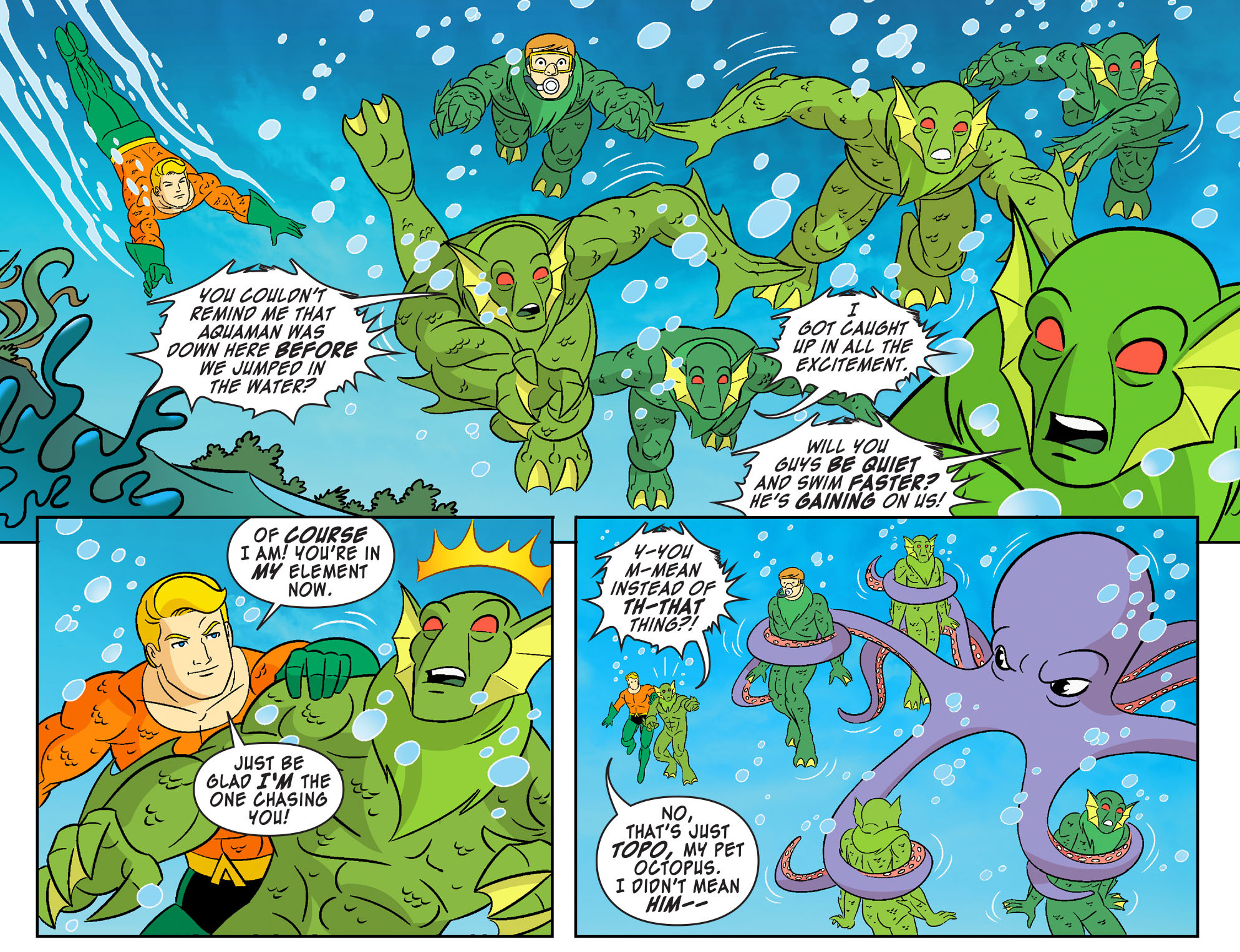 Read online Scooby-Doo! Team-Up comic -  Issue #27 - 14