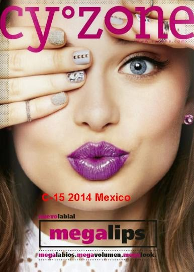 catalogo cyzone c-15 2014 mexico