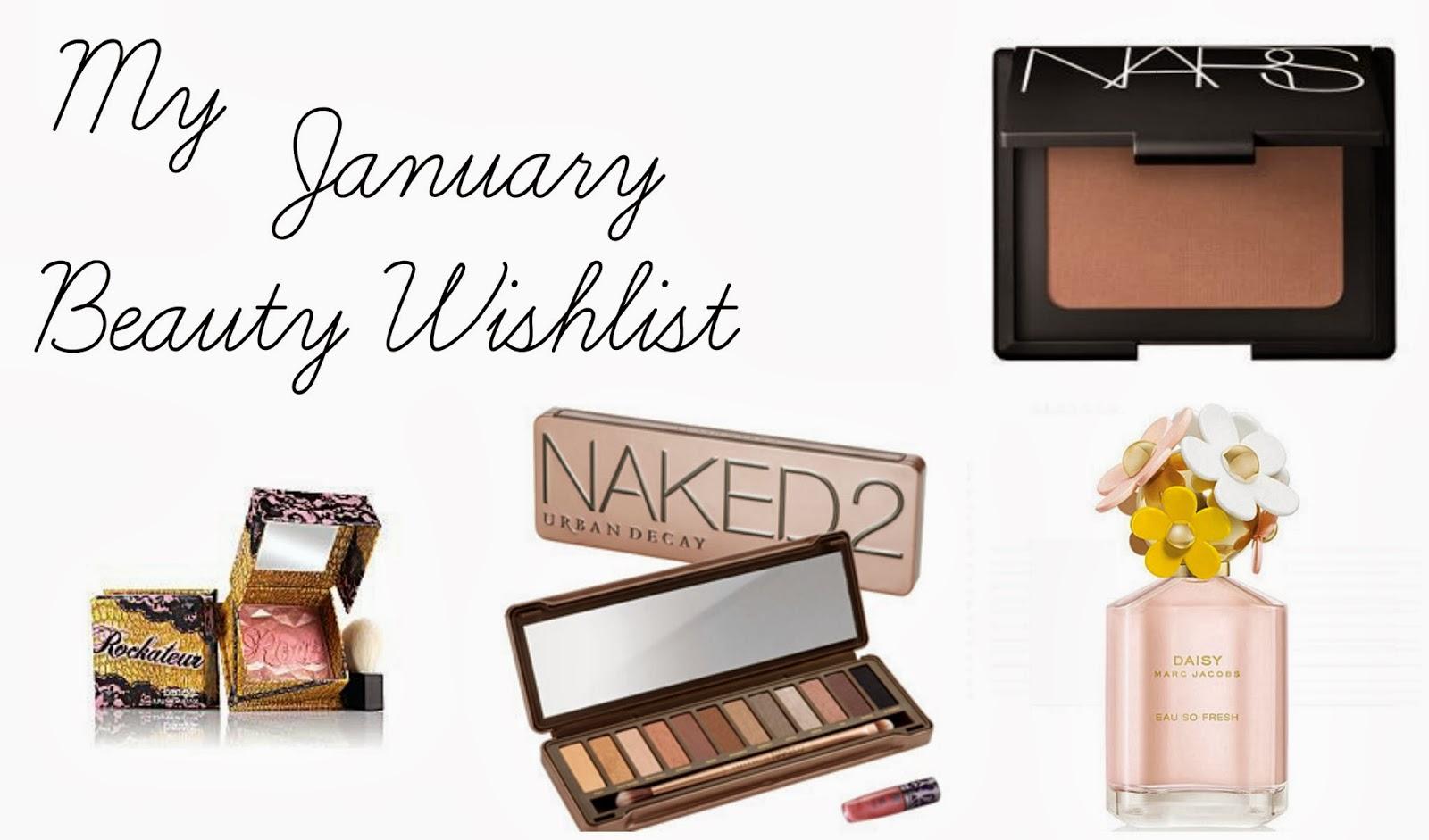 January Beauty Wishlist