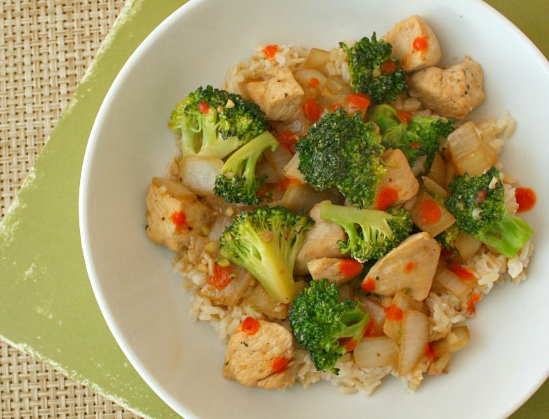APPLE A DAY: Easy Chicken and Broccoli Stir Fry