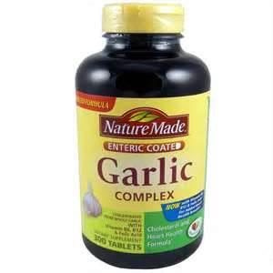 Why take garlic tablets