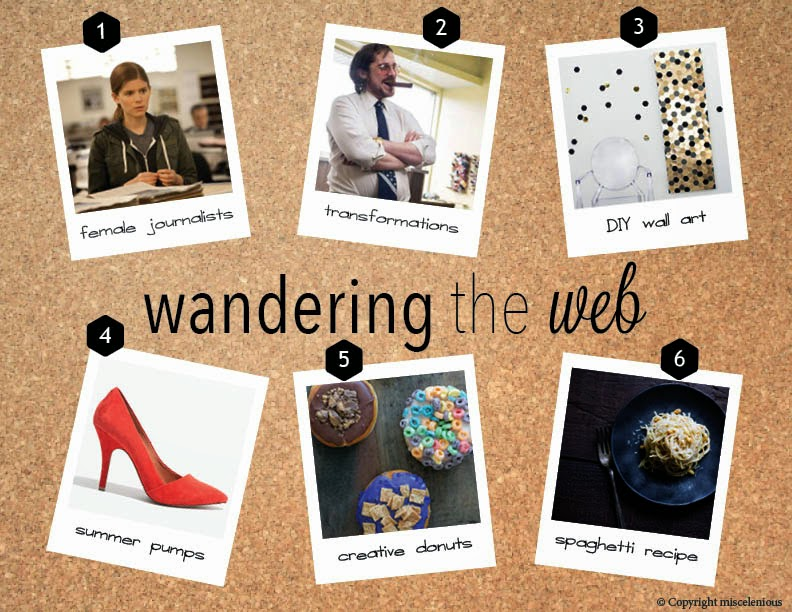 Wandering the Web: fun links from this week