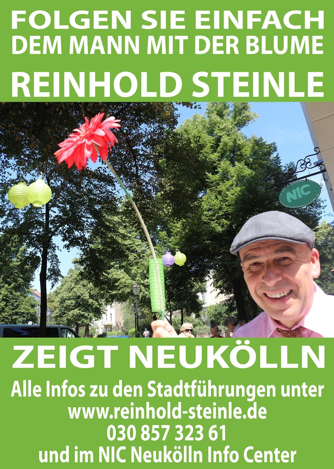 Stadtführungen mit Reinhold Steinle