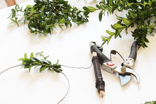 annettes-atelier der atelierladen kranz deko mai hochzeit selbstgemacht DIY tutorial step by step annette diepolder