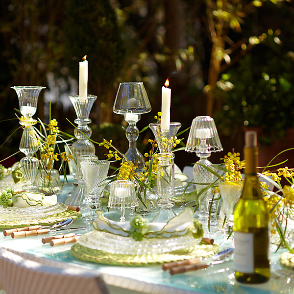 Garden Table Setting Ideas Dining al fresco my new tabletop has arrived and a winner the love the layered effect heresimply stunning one kings lane workwithnaturefo