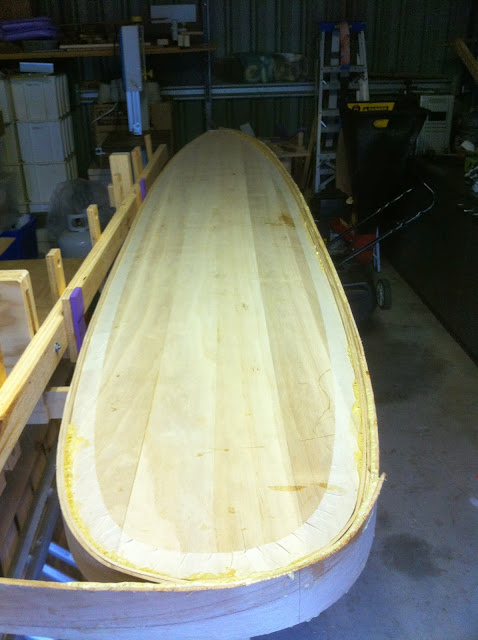 timber surfboard