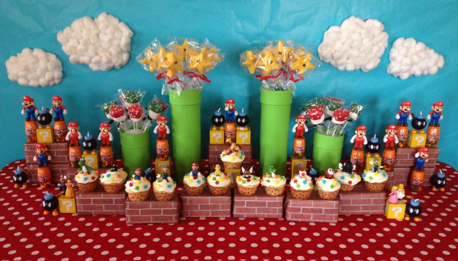 Mario Birthday Party Printables Mario birthday bash