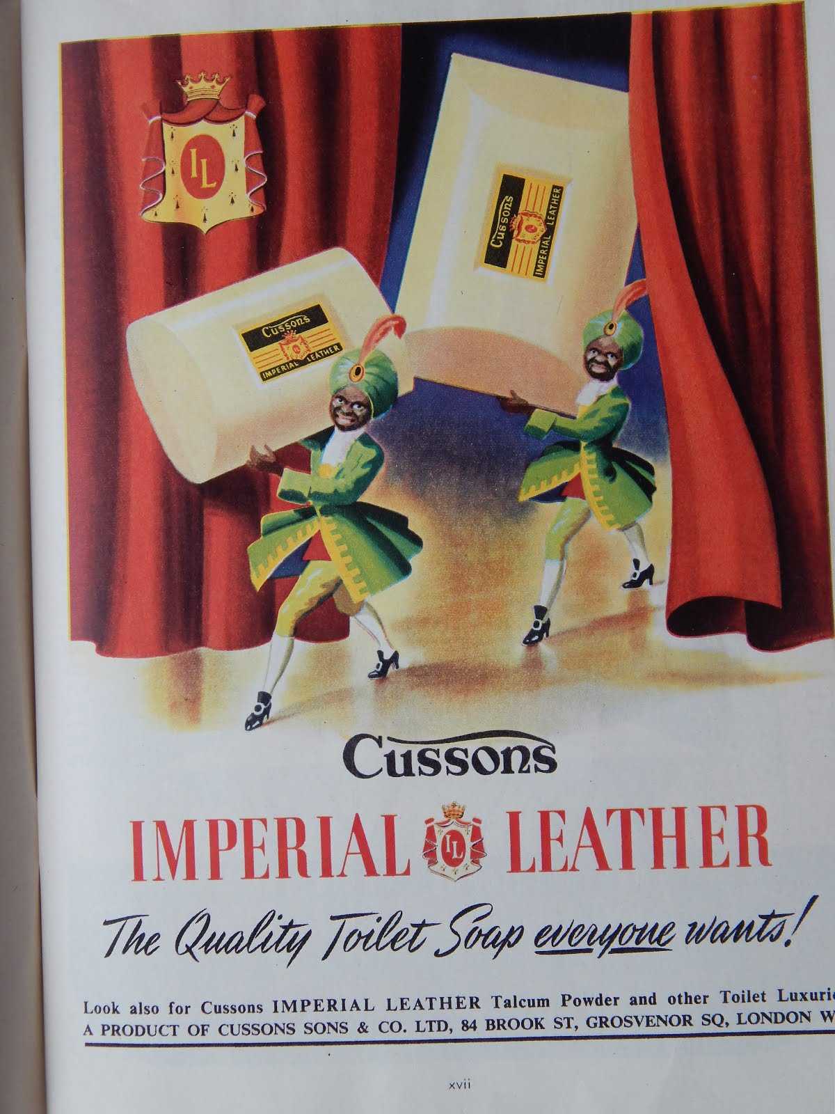 Every household had Imperial Leather