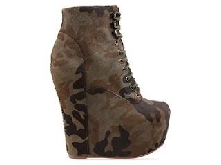 Jeffrey Campbell Damsel Fur in Camo