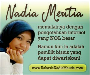 Belajar sukses dari Nadia Mautia