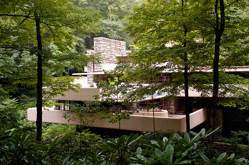 An Architect Who Worked On More Than 1000 Projects, Frank Lloyd Wrightu0027s  Most Acclaimed Project To Date Is U0027Fallingwateru0027. A House Built Over A  Waterfall ... Part 61