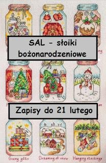 bożonarodzeniowy SAL- październik 2019