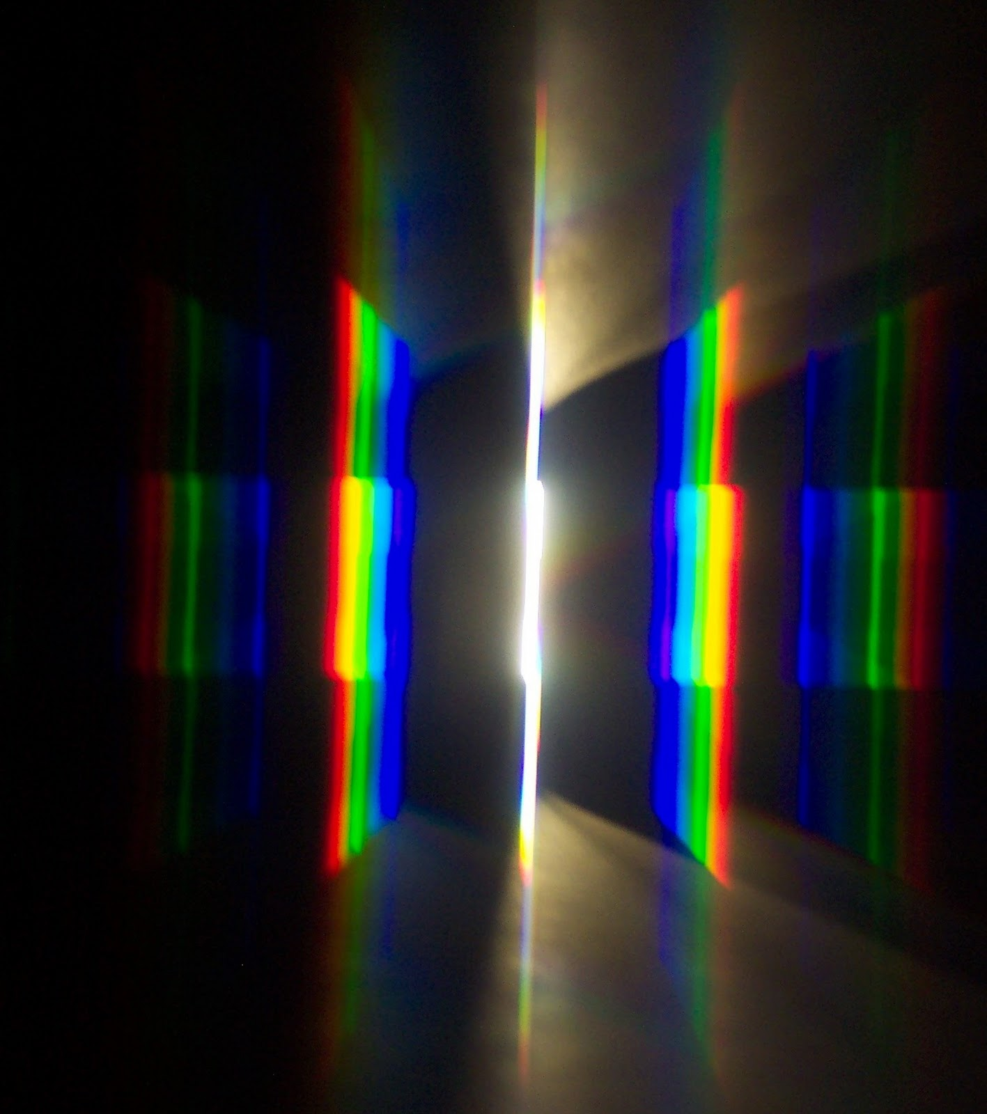 Fluorescent Light Line Spectrum: Integrated Science At Home: Observing Energy Levels Of