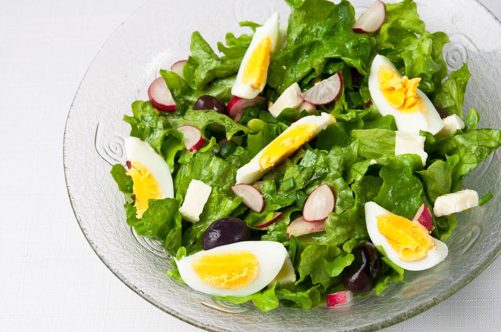 Класическа зелена салата