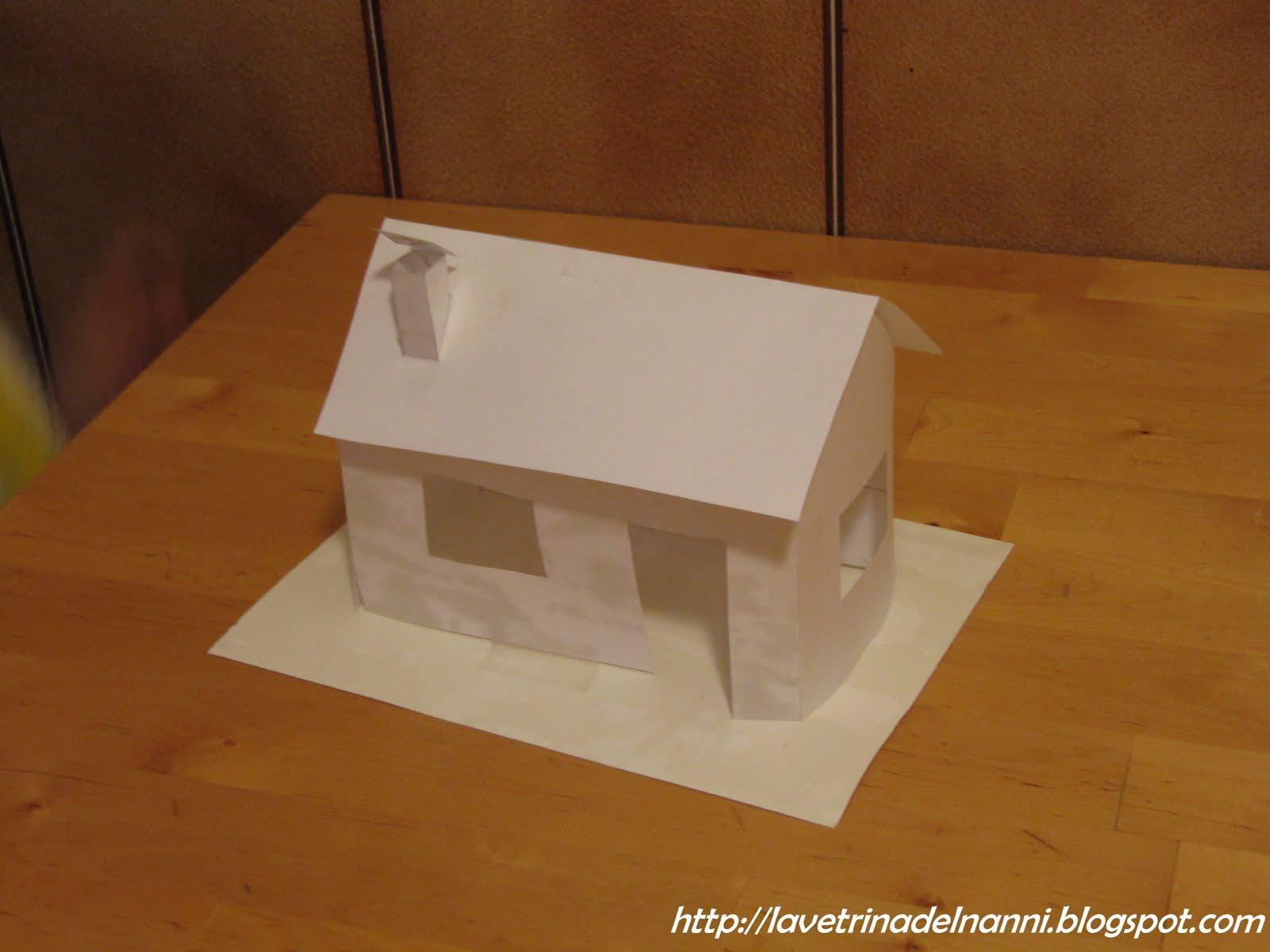 La vetrina del nanni casetta di pasta frolla - Casette di cartone da costruire ...
