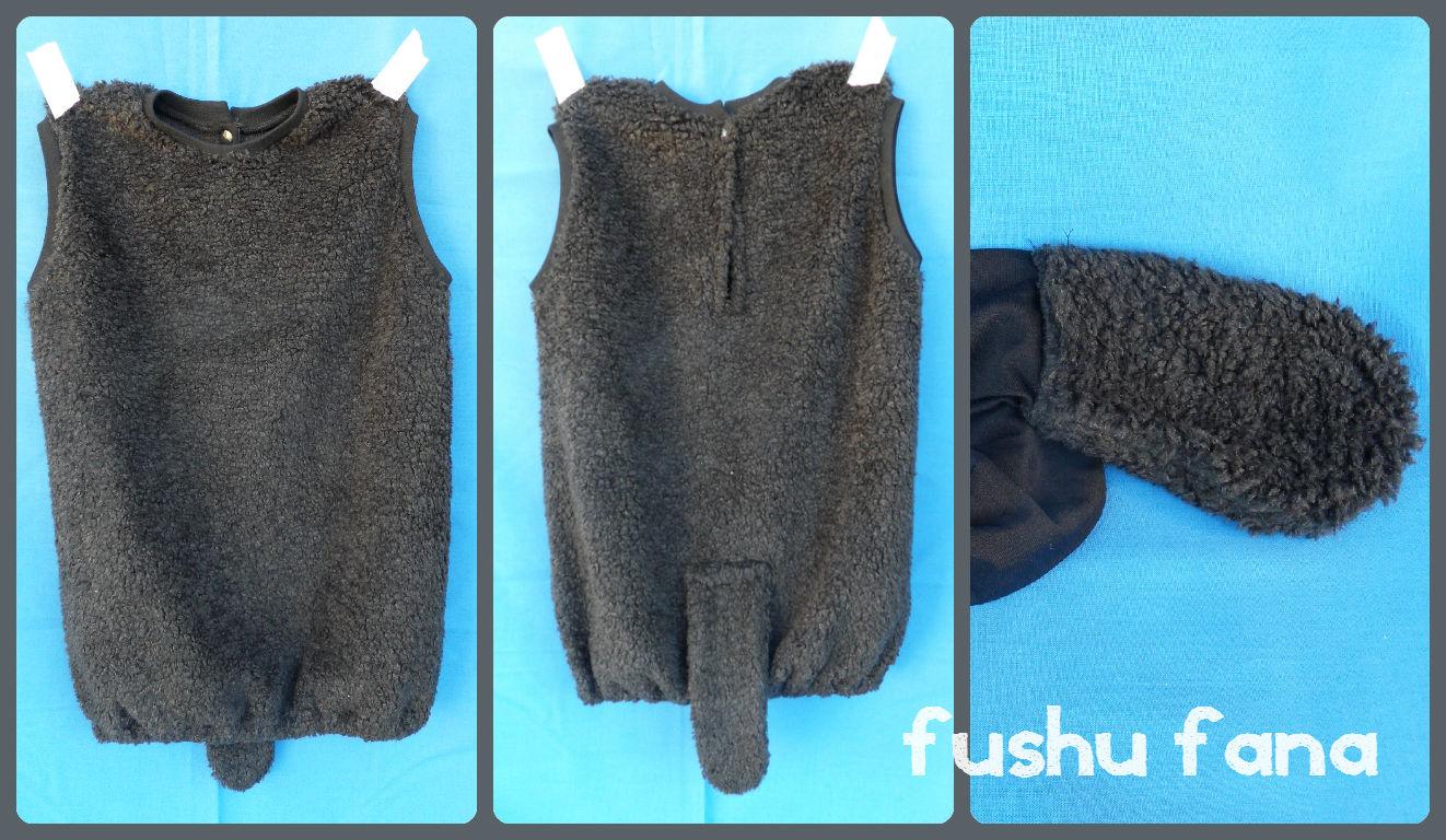 Fushufana disfraz de oveja - Como hacer una oveja ...